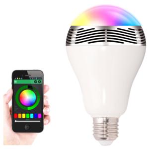 Kolory LED: czerwony, pomarańczowy, zielony, błękitny, niebieski i fioletowy.