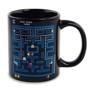 Magiczny kubek z motywem gry Pac-Man.