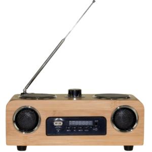 Radio w stylu retro.