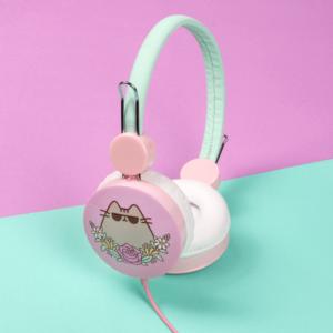 Zaprojektowane specjalnie dla kociarzy słuchawki.