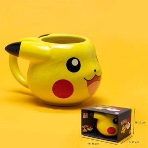 kubek w kształcie pikachu