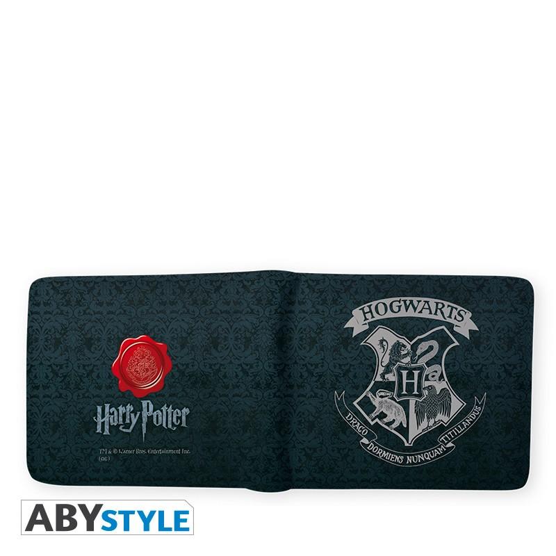portfel z logo hogwartu