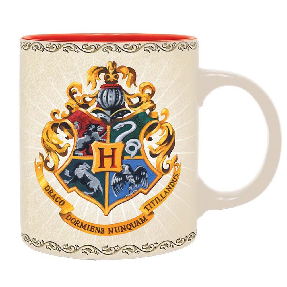 kubek harry potter z logo hogwartu