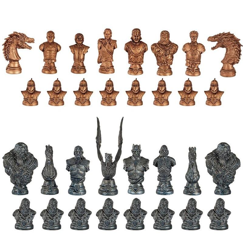 pionki szachów westeros i biali wędrowcy