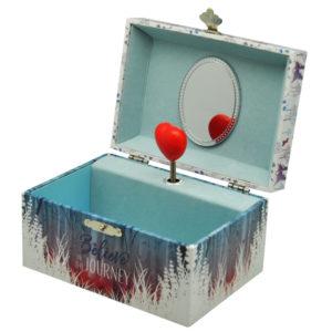 grające pudełko na biżuterię